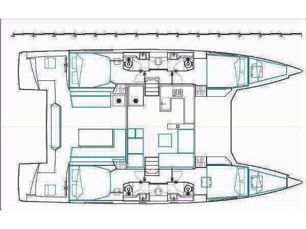 Nautitech 46 Fly (Margeo XIII) Plan image - 2