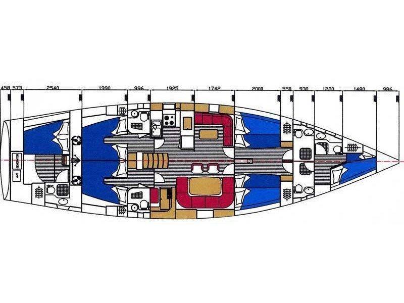 Ocean Star 60.1 (Christianna VIII) Plan image - 16