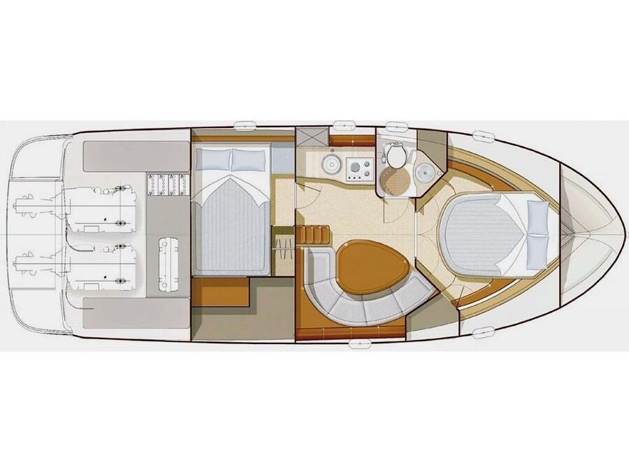 Prestige 34 (Geko) Plan image - 4