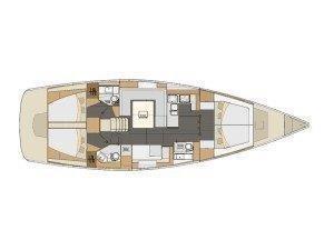 Elan 494 Impression (Lucija I with A/C) Plan image - 23