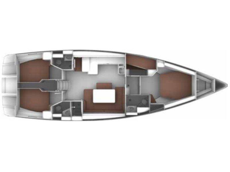 Bavaria Cruiser 50 (Jemi) Plan image - 1