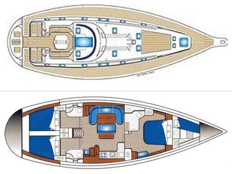 Ocean Star 51.2 (Draft) Plan image - 4