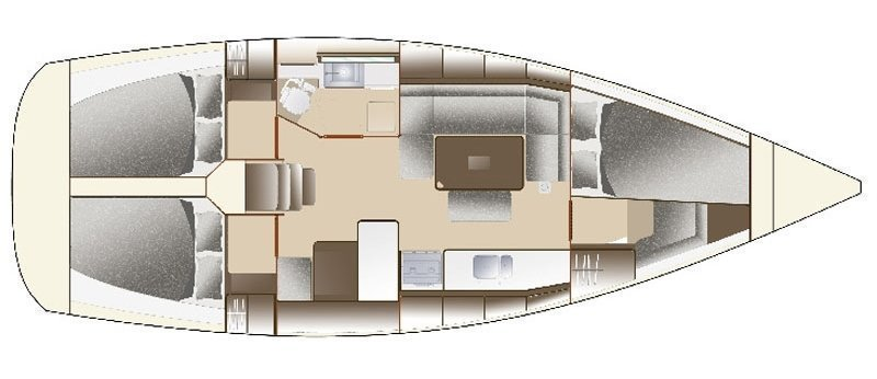 Dufour 375 Grand Large (Mara R) Interior image - 14