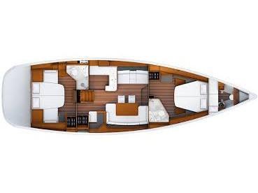 Jeanneau 53 (Cleopatra II) Plan image - 3