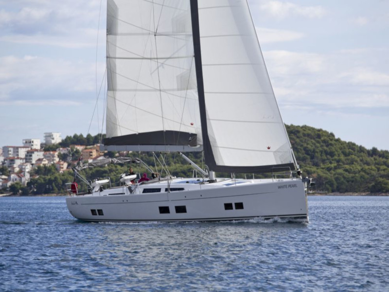 Hanse 588 (White Pearl)  - 13
