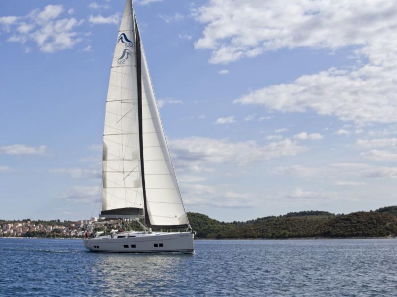 Hanse 588 (White Pearl)  - 53