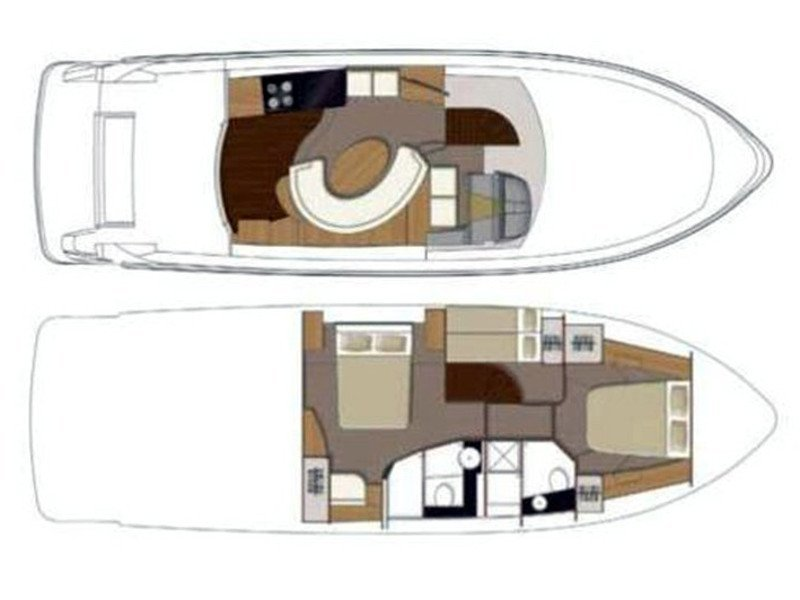 Sealine T 50 (Maja 2) Plan image - 8