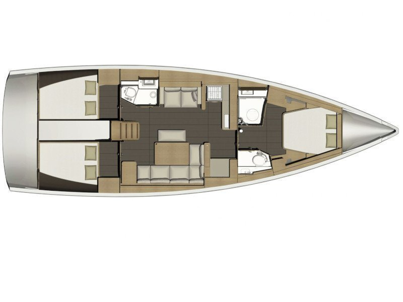 Dufour 460 GL (Serendipity) Plan image - 2