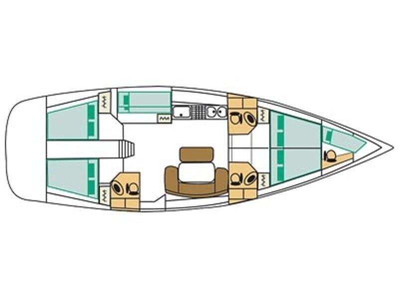 Cyclades 50.5 (Ikaros) Plan image - 5