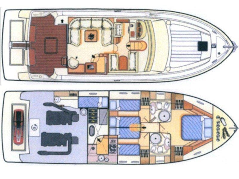 Ferretti 480 (Mr Box) Plan image - 5