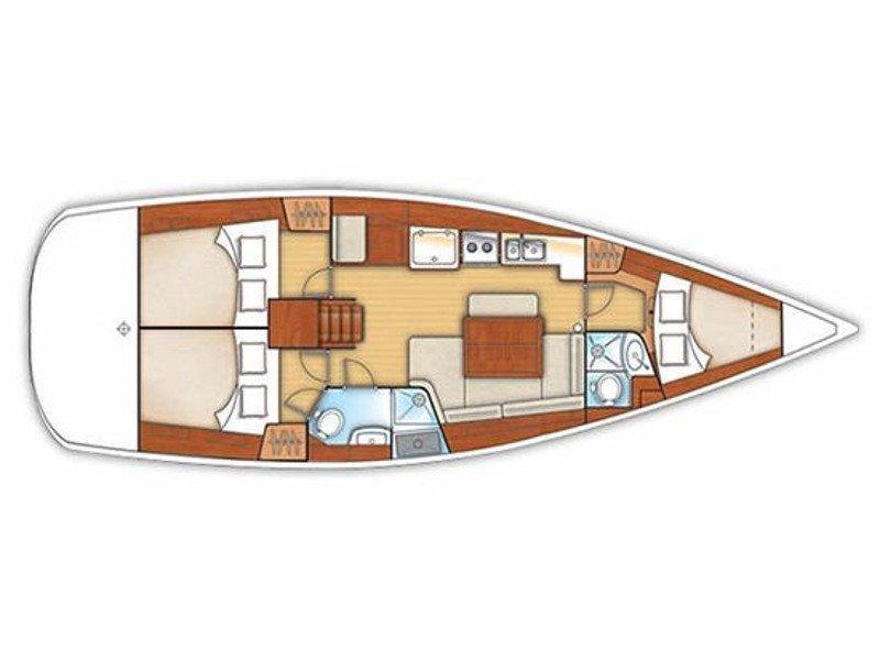 Oceanis 40 (Sapphire) Plan image - 7