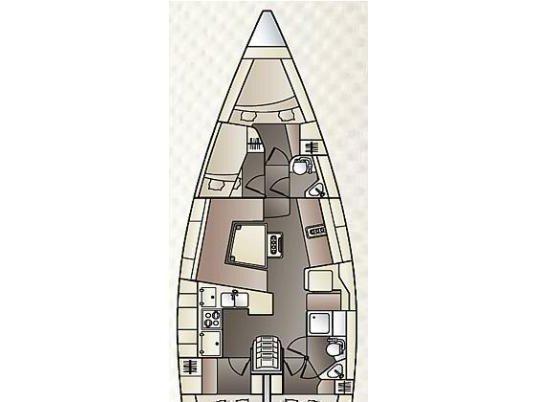 Elan Impression 444 (Petra 25) Plan image - 1