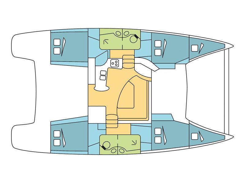 Lipari 41 (Dreamseeker) Plan image - 12
