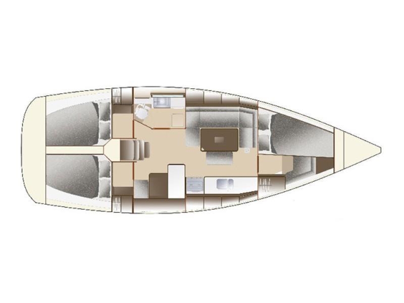 Dufour 375 Grand Large (Orana) Plan image - 2