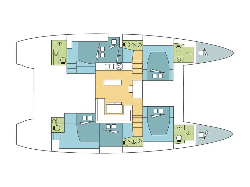 Lagoon 52F (Gacka) Plan image - 2