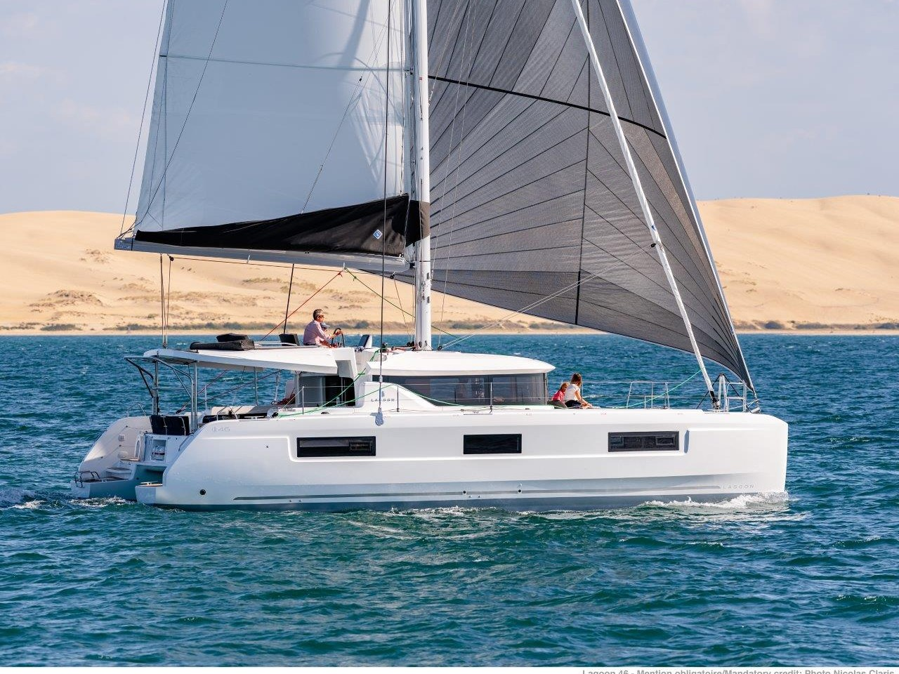 Lagoon 46 (2020) equipped with generator, A/C (sal (QUEEN NIKA powered by GIN HVAR) Main image - 0