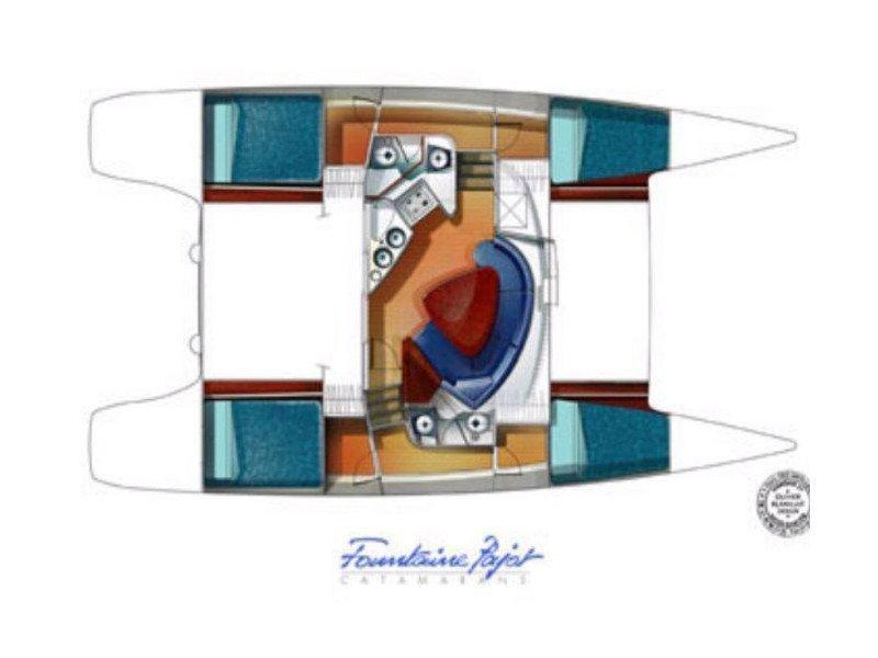 Lavezzi 40 (Domino) Plan image - 2