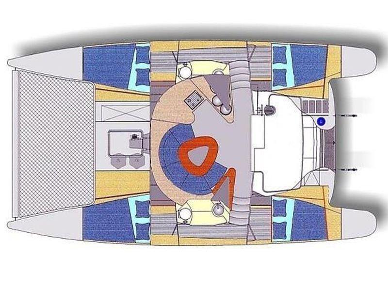 Athena 38 (LaPerla) Plan image - 5