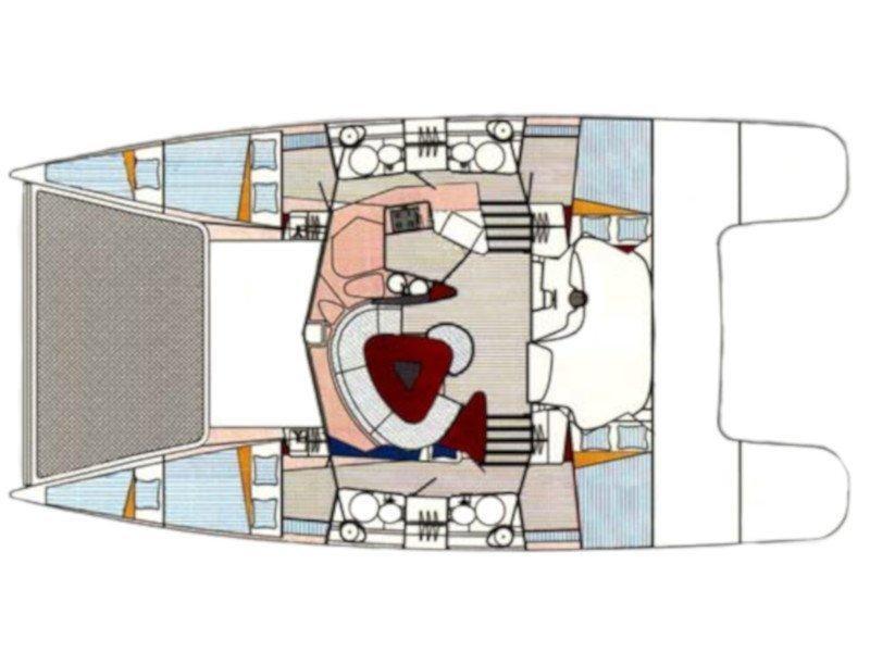 Bahia 46 (Cohiba) Plan image - 2
