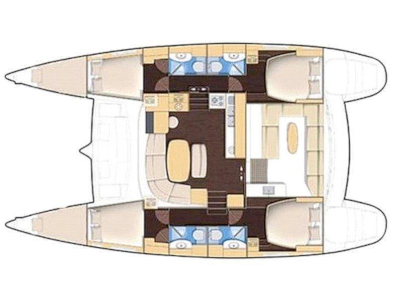 Lagoon 440 (Victoria) Plan image - 4