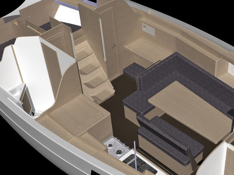 Elan Impression 45.1 - GEN + AC (JOLA - GENERATOR + AC) Interior image - 1
