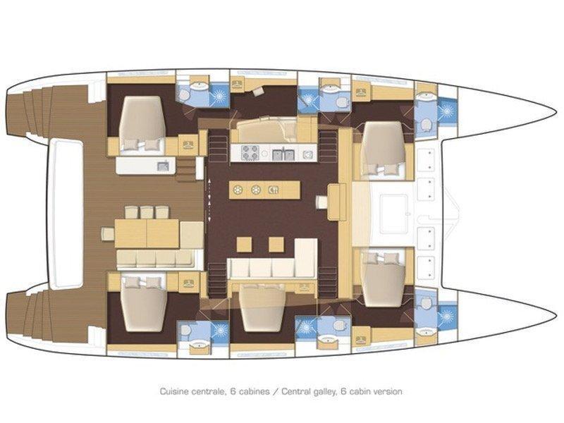 Lagoon 620 (Duolife) Plan image - 47