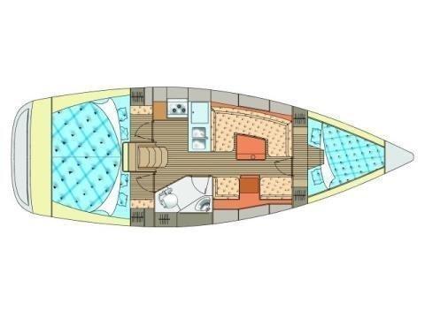 Y 36 (Martina ( main sail 2014 )) Plan image - 2