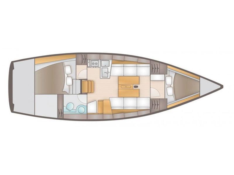 Salona 35 (Charly) Plan image - 10