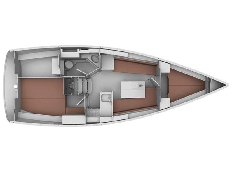 Bavaria 34 Cruiser (Why Not 15) Plan image - 1