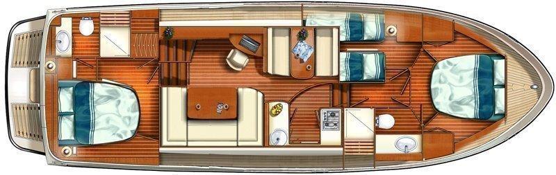 Linssen GS 40.0 AC (Telesto) Plan image - 3
