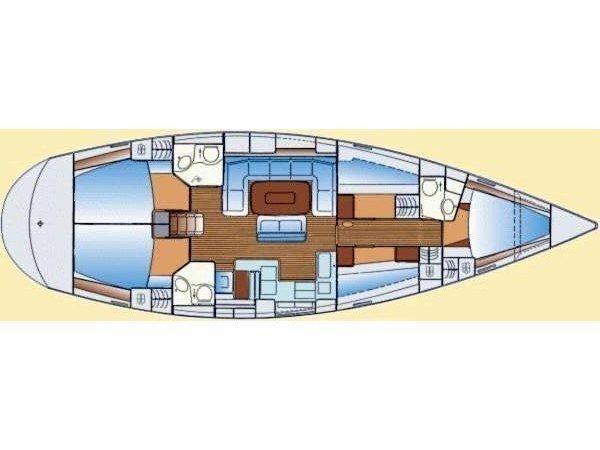 Bavaria 50 Cruiser (KM) Plan image - 2