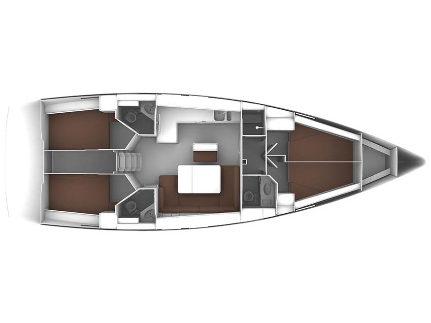 Bavaria Cruiser 46 (Queen Mary) Plan image - 10