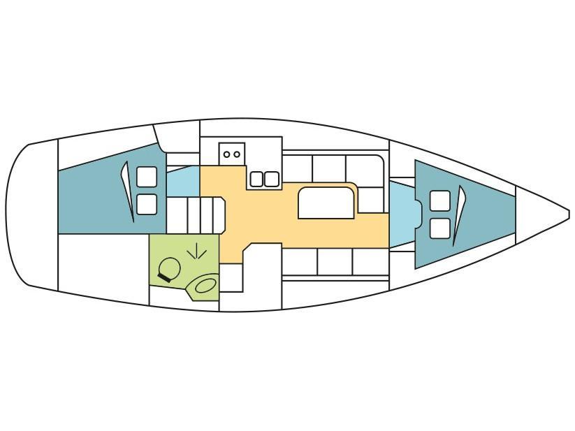 Bavaria Cruiser 34 (4) (Bashung) Plan image - 8