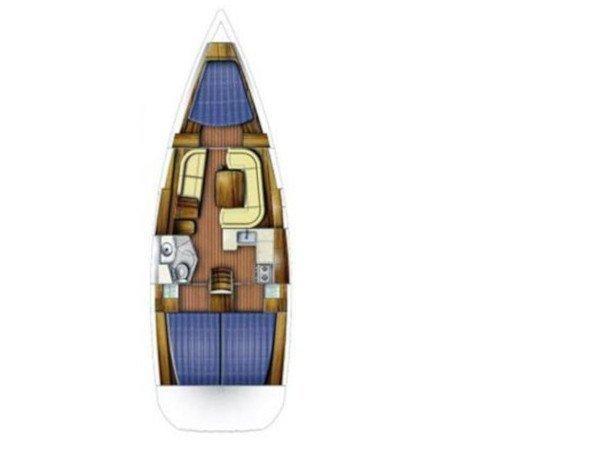 Sun Odyssey 39i (Lucija) Plan image - 17