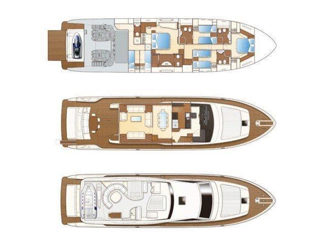 Ferretti 780 (TESORO) Plan image - 17