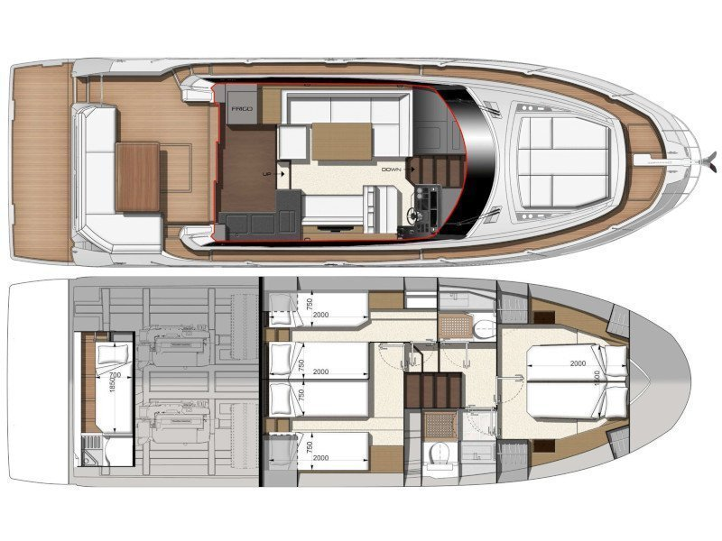 Prestige 460 (ADUDU 2) Plan image - 1