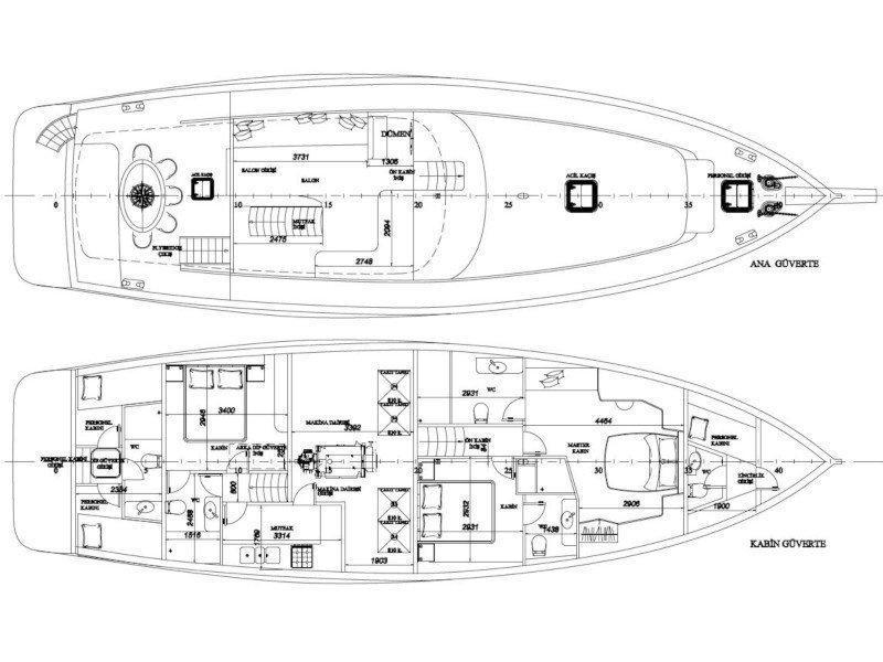 Motor Sailer (Perdue) Plan image - 15