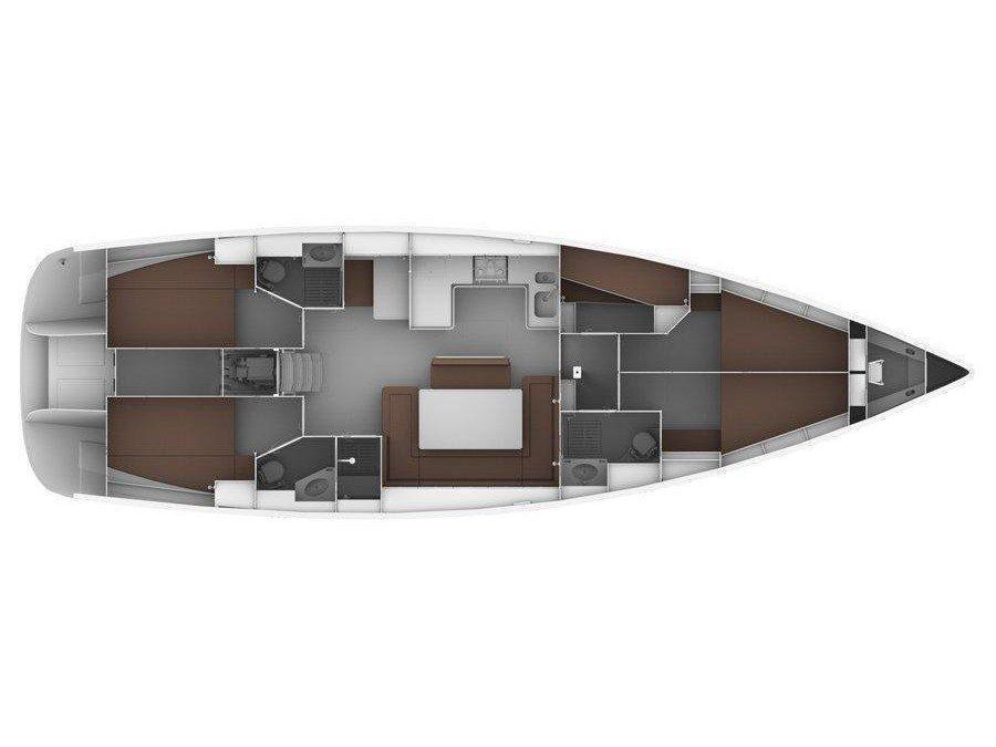 Bavaria 50 Cruiser (ROMANA II) Plan image - 17