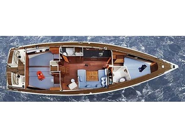 Bavaria 43 Cruiser (Kairos) Plan image - 1