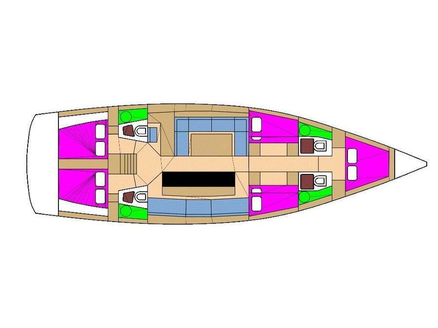 D&D Kufner 54.2 (Adriatic expert) Plan image - 35