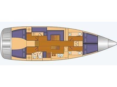 Bavaria 55 Cruiser (Iris III) Plan image - 23