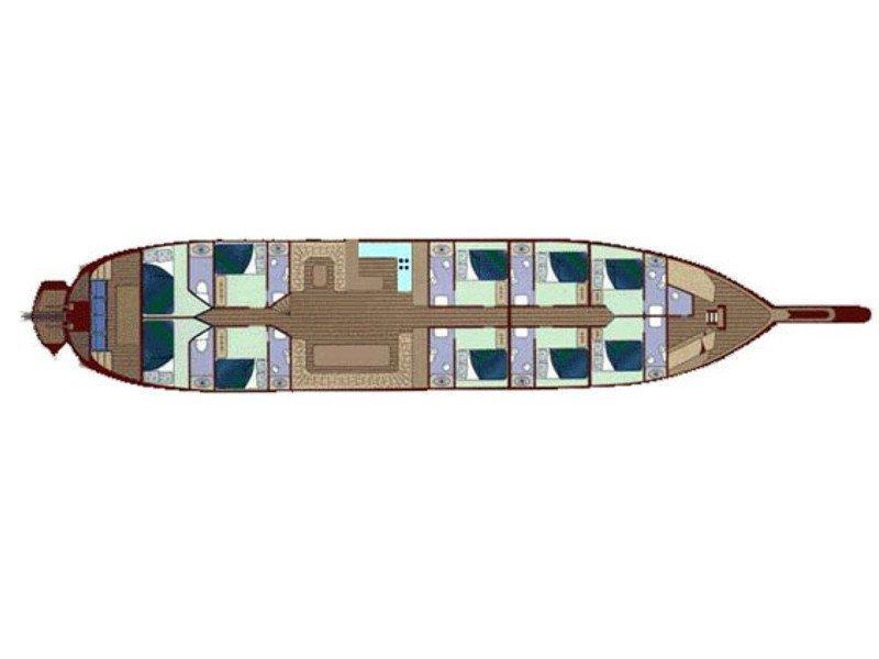 Gulet Techne (Techne) Plan image - 1
