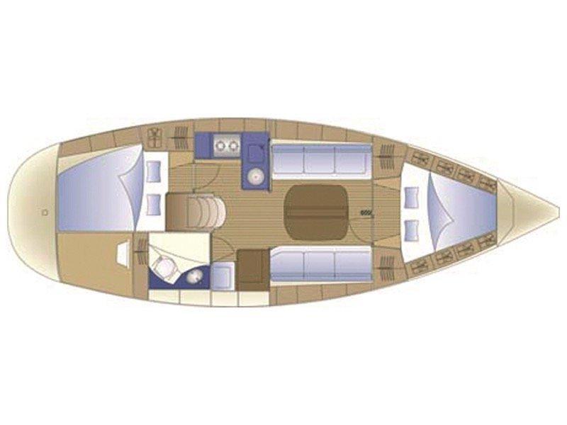 Bavaria 30 Cruiser (MILA ) Plan image - 2