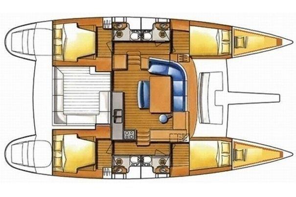 Lagoon 450 (Odysseas)  - 9