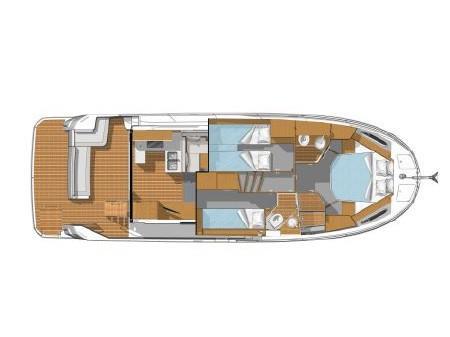 Swift Trawler 41 (2020) (JUDITA) Plan image - 11