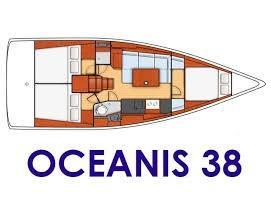 Oceanis 38 (MÁXIMO) Plan image - 3