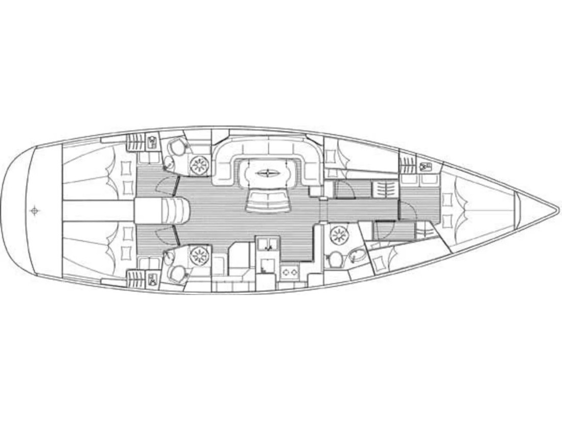 Bavaria 50 cruiser  (Prominea) Plan image - 2