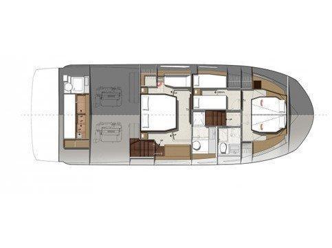 Prestige 520 Flybridge (WHY KNOT) Plan image - 11
