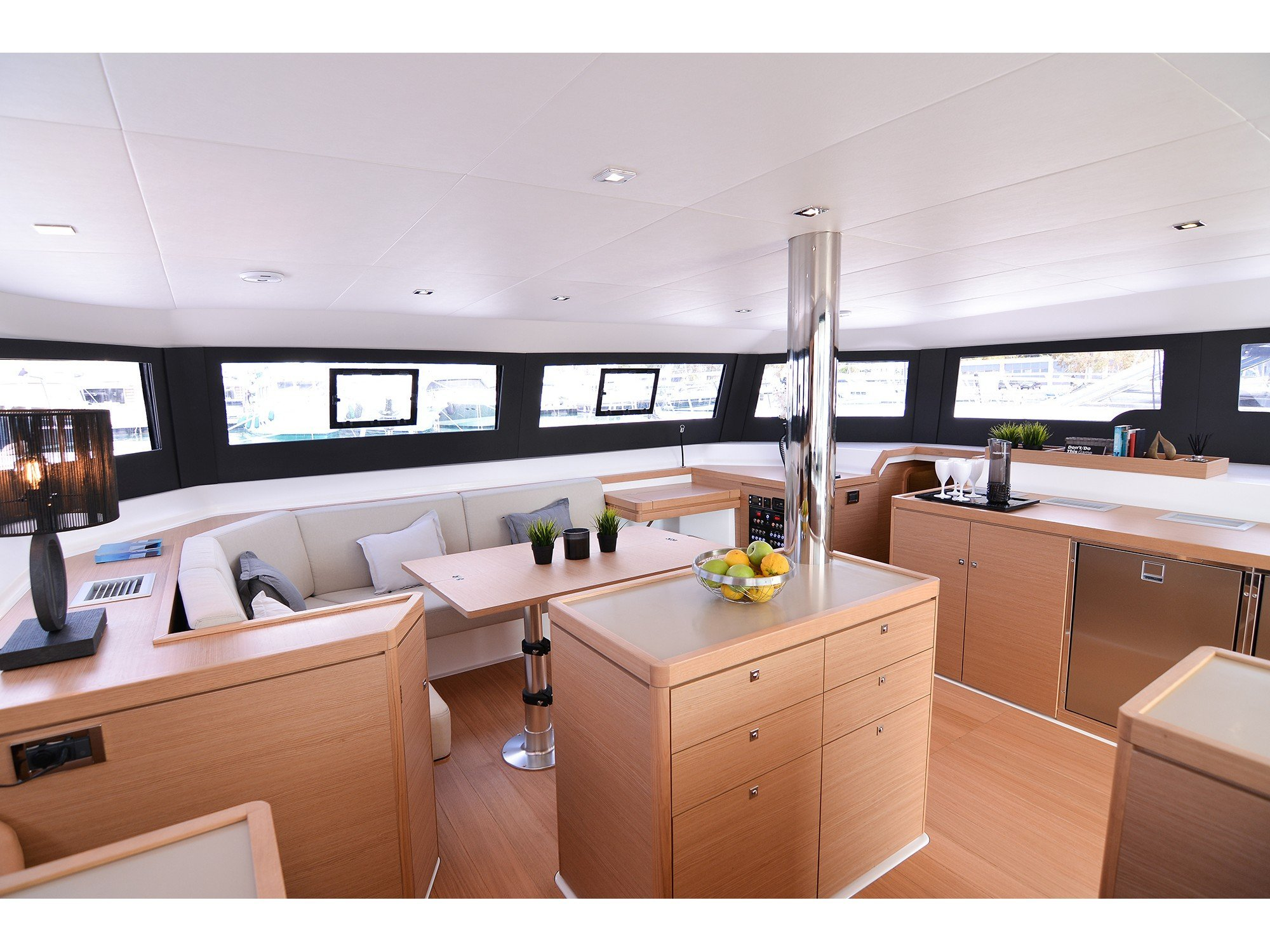 Dufour 48 Catamaran (Bee's Knees) Interior image - 1