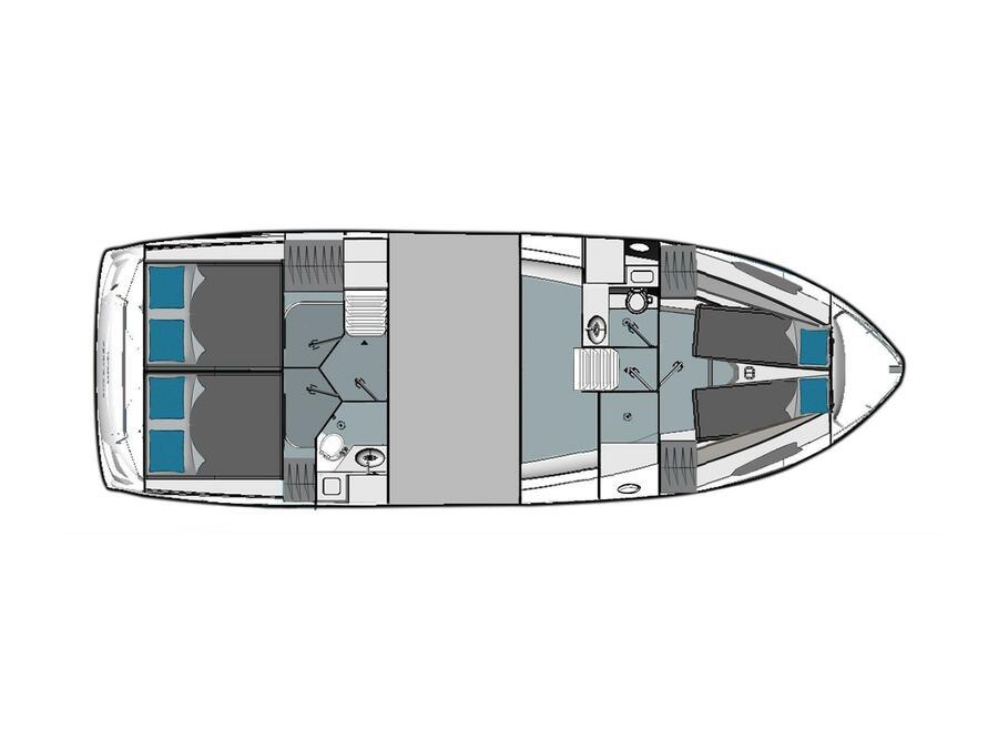 Bavaria E40 Sedan (Panarea) Plan image - 2